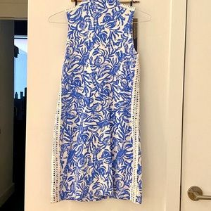 Lilly Pulitzer Dresses - Lilly Pulitzer Skipper Sleeveless Dress Blue White